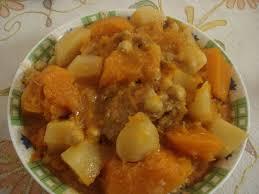 navet cuisine couscous au potiron et navet cuisine algerienne bordjienne