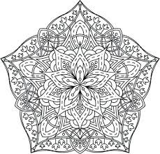 Full Image For Mandala Coloring Adults Pdf Page From Adult Book Designs