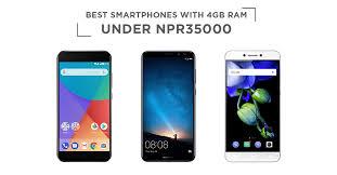 Best smartphones with 4GB RAM under