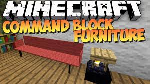 minecraft command block furniture no mod showcase