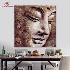 leinwand wandkunst buddha ölgemälde portrait gemälde für verkauf moderne wandbilder für wohnzimmer dekoration 1 stück