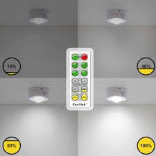 remote dimmable led puck lights led cabinet