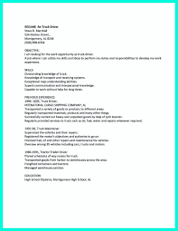 Truck Driver Resume No Experience Best Of Writing A Report Of Thesis ...