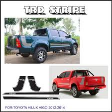 Free Shipping 4 PC Hilux Side Stripe Graphic Vinyl Sticker For ... Product 4x4 Fx4 Truck Bed Decals For Ford F150 And Super Duty Stripe Usmc Marines Semper Fidelis Stickers Etsy Rode Rip Mudslinger Side 4x4 Rally Xspx Package Vinyl Decal Bedside Fits Toyota Tundra Set Of 3 Predator 2 Fseries Raptor Rebel Edition Shotgun Trucks 082017 Freedom Ar15 Dodge 092014 Style Rear Metal Militia Skull Circle Window X22 2018 For Any Color Pickup
