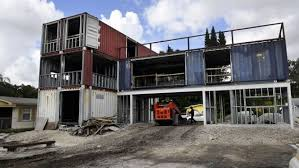 100 House Shipping Containers Florida Architect Constructing Home From Shipping Containers Report