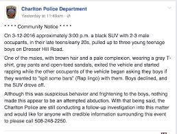 Dresser Hill Dairy Charlton Ma by Charlton Police Report Drive By Rappers Challenge Boys To Rap