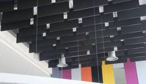 rockfon metal ceiling panels planks linear and open cell systems