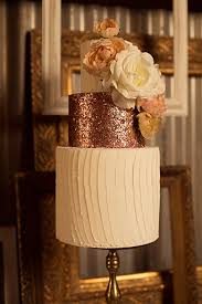Rose Gold Wedding Cake View More Ashleybeepassus Rustic Glam