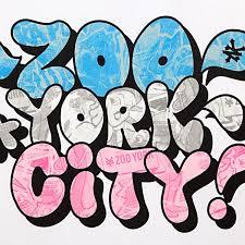 GRAFITY New York City Graffiti Bubble Letters