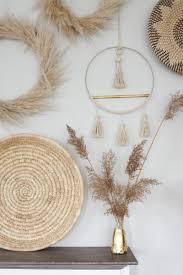 bohemian diy wanddeko für dein wohnzimmer schön