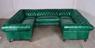 Sofas Awesome Dark Green Leather Couch Grey Sofa Retroal Emerald Olive Sectional Sage Chenille Fabric Seafoam