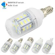 5x led light bulbs 12 volt e27 e12 e14 b22 gu10 g9 ac dc 12v bulb
