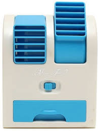 Bladeless Table Fan India by Compare Active Dual Bladeless Mini Air Conditioner Cooling