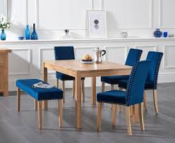Oxford 150cm Solid Oak Dining Table With Mia Studded Blue Velvet ... Raven Corner Chair Blue Velvet 16319 25 Stunning Living Rooms With Sofas Interior Grandiose Scoop Ding Chairs Set Also Crystal Value Lvet Ding Chair Mytirementplanco Winsome Room Sets Luxury Make Modern Fniturer Of 2 Metal Legs Fniture Rose Maxine Classic Navy Acrylic Klismos Side Bentley Designs Turin Dark Oak Round Glass 6 Fabric Low Back 120cm Fduk Best Price Guarantee We Will Beat Audrey Ink Espresso Wood Details About Euphoria Tufted Beatrix Green W Handle On Gold Stainless Florence Knoll Table Rectangular Palette Parlor