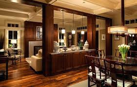 Kitchen Dining Room Divider Road Residence Traditional Ideas