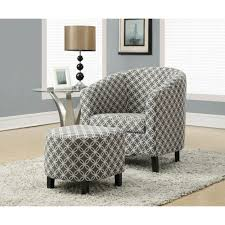 100 Accent Chairs With Arms And Ottoman Monarch Specialties Grey Cotton Arm Chair With I 8060 The