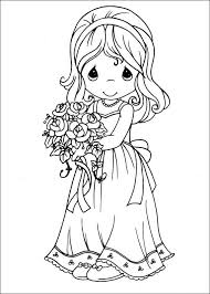 Coloring Pages Precious Moments Alphabet Others