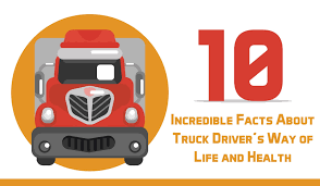 INFOGRAPHIC: 10 Incredible Facts About Truck Driver's Way Of Life ...