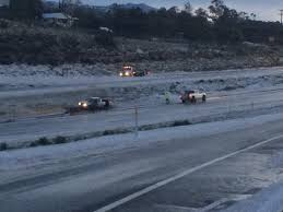 100 Stevens Truck Driving School Icy Roads Send Several Vehicles Off The Road In East County