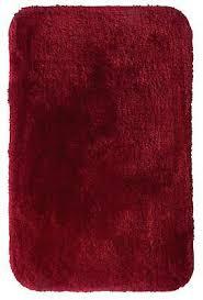ridder teppich chic rot 60x90 cm badezimmerteppich