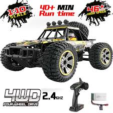 100 Ebay Rc Truck Details About All Terrain Off Road RC 46 Kmh 110 4WD 24G Waterproof Toy Car 40Min