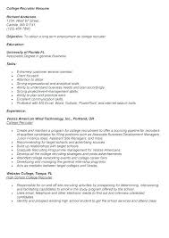 Hr Recruiter Resume Examples Agency Samples Wakeboarding Supplies Rh Info College Layout