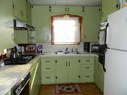 Sage Colored Kitchen Cabinets by Distressed Green Kitchen Cabinets Design Home Design Ideas