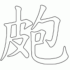 Chinese Symbol Tattoo Design For Faith