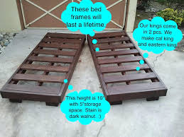 California King Platform Bed With Headboard by Bed Frames Platform Bed Frame Queen Diy California King Bed
