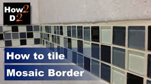 how to tile mosaic border mosaic stripes tiling mosaic tiles