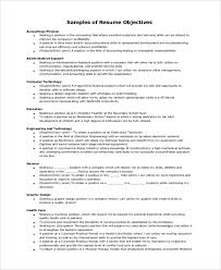 General Resume Objective Example