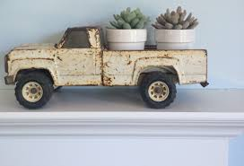 Beep Beep Vintage Tonka Truck With A Load Of Succulents | Home Karma ...