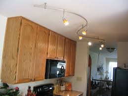 Rustic Kitchen Lighting Ideas by Kitchen Rustic Kitchen Track Lighting With Silver Metal Track