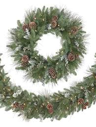 Christmas Tree Shop Danbury Holiday Hours by Wintry Woodlands Garland From Balsam Hill