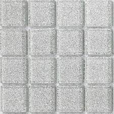 silver glitter glass mosaic tiles feature wall splashback borders
