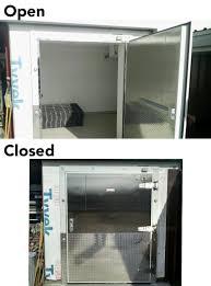 Custom Chase Freezer Door