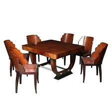Art Deco Dining Table And Chairs Room Furniture For Sale Tables Expert