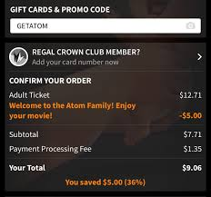 Atom Tickets: Save $5 On Your First Ticket With Coupon Via ... Gypsy Warrior Promo Code Ccs Discount Coupon Moviepass Alternatives Three Services To Try After You Exhale Fans Robbins Table Tennis Coupons Lyft New Orleans Ebay 5 2019 Paytm Movie Pass Couple Paytmcom Buy Marvel Moviepass And Watch Both The Marvel Movies At Costco Deal Offers Fandor For A Year Money Ceo Why We Bought Moviefone Railway Booking Myevent Tuchuzy Fuel System Service Peranis Gillette Fusion Here Printable