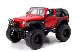 JADA 1:24 W/B JUST TRUCKS 2007 JEEP WRANGLER OFF-ROAD VERSION ...