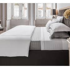 linge de lit luxe literie parure de lit en coton et soie