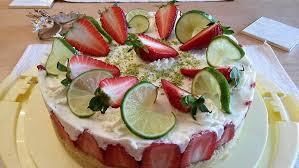 erdbeer limetten mascarpone torte s genuss pur