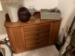 hülsta flur schlafzimmer set sideboard kommode spiegel kirschbaum