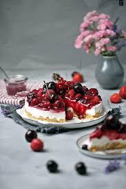 rote grütze torte no bake kuchen für den sommer fräulein