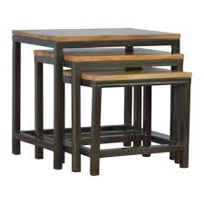 Side Tables Rudolph (nesting Tables Set Of - Shipped Within 24 Hours! Nesting Tables Set Of 2 Havsta Gray Josef Albers Tables 4 Pavilion Round Set Zib Gray Piece Oslo Retail 3 Modern Reflections In Blackgold Two Natural Pine And Grey Zoa Nesting Tables Set Of Lack Black White Contemporary Solid Wood Maitland Smith Faux Bamboo