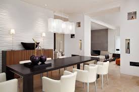 Lighting Ideas Modern Dining Room Lighting Idea With Unique White