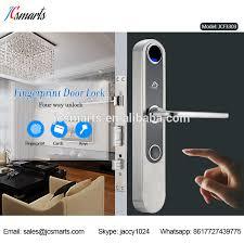 Home Apartment Electronic Fingerprint Nfc Home Smart Front