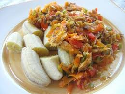 national cuisine of national dish of lucia green fig and saltfish fig vét é