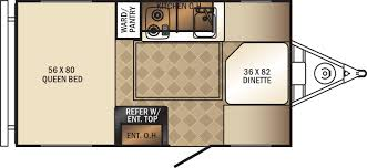 R Pod Floor Plans 2018 by Palomini Travel Trailers Floorplans By Forest River Rv Colonia