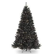 National Tree Company 75 Ft North Valley Black Spruce Artificial Christmas With Clear Lights