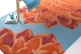 Burnt Orange Area Rug And Grey Rugs 5—7 Brown – residenciarusc